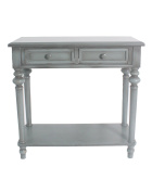 Urbanest Shelton Accent End Table, 80cm Tall, Dark Green