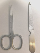 Nail Scissors Nail File Stainless Steel Nail Cleaner Tip Set