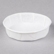 Genpak F100S 30ml Squat Harvest Paper Souffle / Portion Cup - 250/Pack