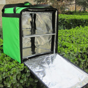 PK-76 Fits LG : Big Pizza Delivery Backpack, Thermal Food Delivery Bags, Keep Hot/Cool, 41cm L x 38cm W x 46cm H