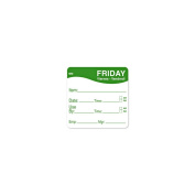 DayMark 1100355 MoveMark 5.1cm Friday Use By Day Square - 500 / RL