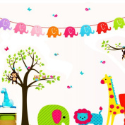 TRIEtree Infant Baby Kids Birthday Party Decorations Bunting Party Hangings