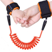 Ranipobo Child Wrist Safety Hook and loop Anti Lost Hand Belt Double Layer Walking Link for Toddler Kids