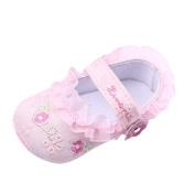 Nicerokaka Infant Baby Floral Print Anti-slip Soft Toddler Shoes