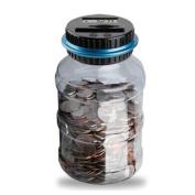 Kingspinner Piggy Bank Digital Counting Coin Bank Creative Large Money Saving Box Jar Bank LCD Display Coins Saving Gift