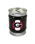 Georgia Bulldogs Tin Money Bank