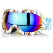 Crummy Bunny Children's Animals Ski Goggles