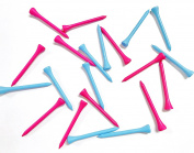 20 Pack- Pink and Blue Golf Tees