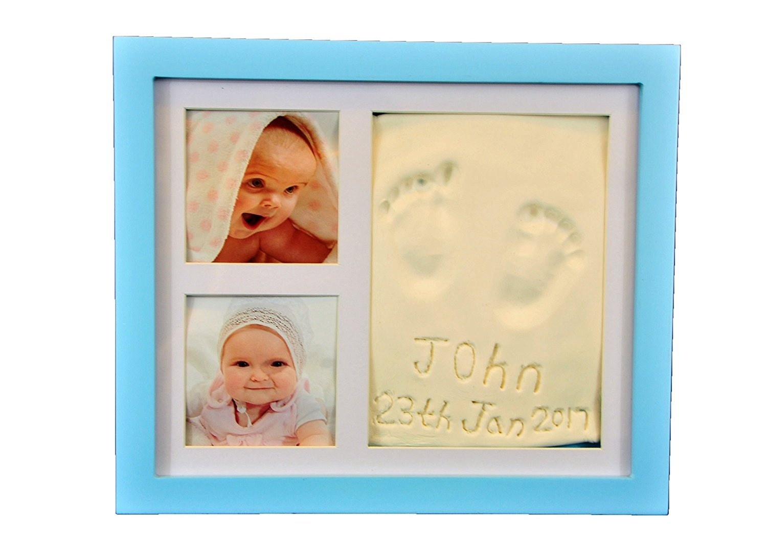 Beautiful Hand And Footprint Baby Frame Its A Cool And Unique Baby
