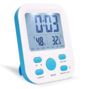 Alarm Clock, Warmhoming Digital Clock with Temperature and Humidity