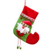 Coerni Premium Cute Christmas Tree Hanging Deco Velvet Gifts Candy Bag . A)