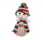 WEIYI Christmas Snowman Style Apple Bag Gift Xmas Decor Eve Candy Wrapping Bag