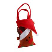 GUAngqi Cute Santa Christmas Candy Handbag Xmas Christmas Decor Kids Gift Ornament Bag
