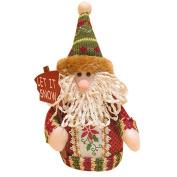 Vintage Cute Santa Claus Snowman Reindeer Christmas Xmas Tree Gadgets Ornaments