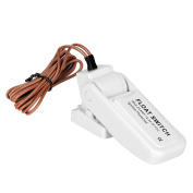 Boat Bilge Pump Switch by LEANINGTECH Automatic Marine Float Switch Ignition Protected Universal 30A 12v-32v