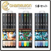 Chameleon Pen 5 Pen Set