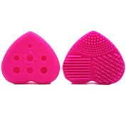 Owill Make Up Washing Brush Scrubber Board For Cosmetic Tools Cleaning