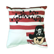 Pirate Tooth Fairy Pillow with Tooth Fairy Dust