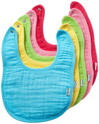 green sprouts Muslin Bibs made from Organic Cotton,Pink Set