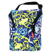 Baby Bottle Cooler Bag Breast Milk Baby Double Bottle Waterproof Cooler Bag for Insulated Breast milk Storage (blue