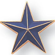 Blue Star Lapel Pin - Pack of 12