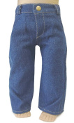 Denim Jeans Pants for 46cm American Girl Boy Logan by Doll Clothes Sew Beautiful