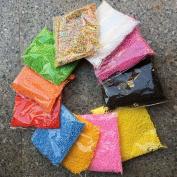 12 Pack Colourful Styrofoam Balls Slime Mini Foam Balls Beads Slime Decorative Ball for Kids DIY School Arts Household Craft Supplies 0.09-0.4cm 13000 Pcs