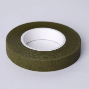 Efavormart 1.3cm x 27m Olive Green Floral Tape for Stem Wrap Flower Bouquet - Buy One Get One Free
