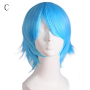 Creazy Graduated Colour Cosplay Wig Start Life In Another World Costume Play Halloween