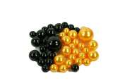 HALLOWEEN SET of Vase Fillers 84 Assorted Pearls Beads - Unique Decorative Gems Wholesale