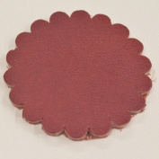 12 pack - Leather Concho Rosette 5.1cm leathercraft Red