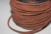 4mm - Genuine Suede Cord Stiff & Strong 1.6mm to 1.9mm Thick 25 Yards/Spool