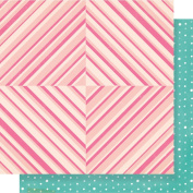 Maggie Holmes Chasing Dreams Double-Sided Cardstock 30cm x 30cm -Be Happy - Case Pack of 25