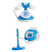Lovely Home Appliance Model Toys Kids Life Educational Toys,Phone & Vacuum Cleaner