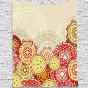 Tapestry Indian Mandala Tapestry Wall Hanging Beach Hippie Throw Bedspread Mat Home Decor
