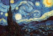 Vincent van Gogh The Starry Night Post Impressionist Dutch Painter Painting Poster 36x24
