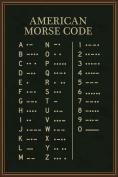 American Morse Code Art Print Poster 12x18