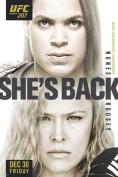 UFC 207 Amanda Nunes vs Ronda Rousey Sports Poster 12x18