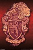Harry Potter Gryffindor Lion Art Print Poster 22x34