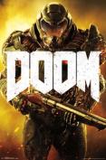 Doom Marine Video Gaming Poster 22x34