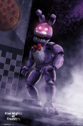 Five Nights At Freddys Classic Bonnie Video Gaming Poster 22x34