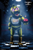 Five Nights At Freddys Classic Chica Video Gaming Poster 22x34