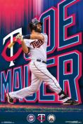 Joe Mauer Minnesota Twins MLB Baseball Sports Poster 22x34