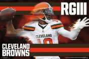 Cleveland Browns Robert Gryphon III Sports Poster 34x22