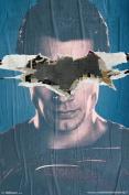Batman v Superman SM Teaser Ripped Bat Face Movie Poster 22x34