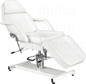 Italica 2501 White Hydraulic Facial, Tattooing, Treatment or Waxing Bed