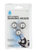 Replacement Dual Precision Head For Philips Norelco Series 5000 Shavers, SH50/52, HQ8 By Pursonic