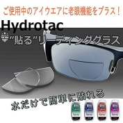 Hydrotac (Hydro Tac) pasting Reading lens +3.00
