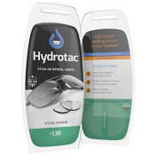 Hydrotac (Hydro Tac) pasting Reading lens +1.50