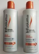Infusium23 Colour Defender Shampoo & Conditioner Set with Macadamia Oil Repairs Restores Restructures